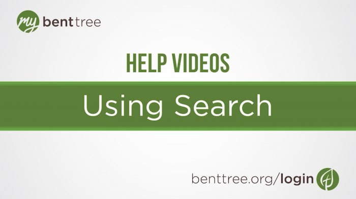 Using Search | Help Videos